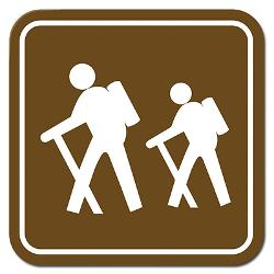 backpacking_sign_rectangle_sticker