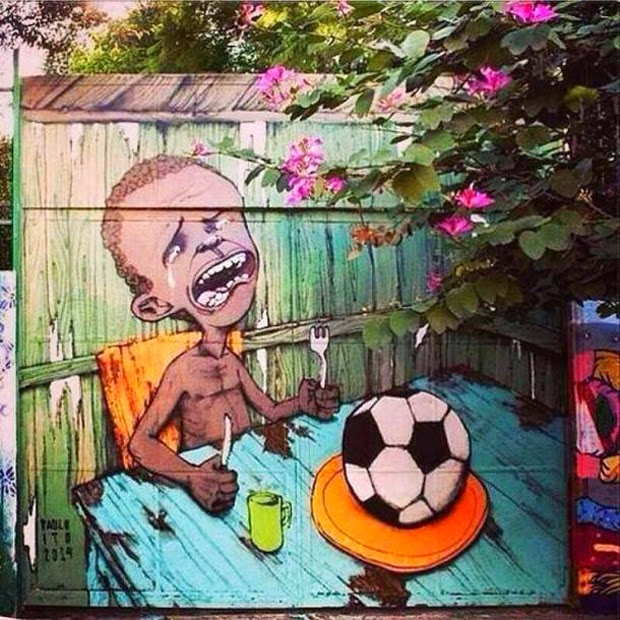 Brazilian Anti-Fifa Street Art Expresses Outrage Over World Cup (1)