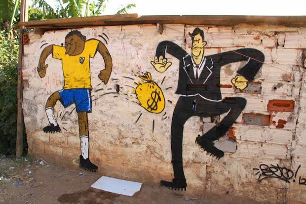 Brazilian Anti-Fifa Street Art Expresses Outrage Over World Cup (6)