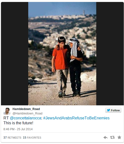 Jews-and-Arabs-refuse-to-be-enemies-Social-media-campaign-goes-viral-PHOTOS-—-RT-News12