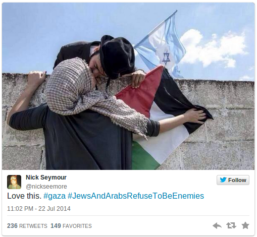 Jews-and-Arabs-refuse-to-be-enemies-Social-media-campaign-goes-viral-PHOTOS-—-RT-News6